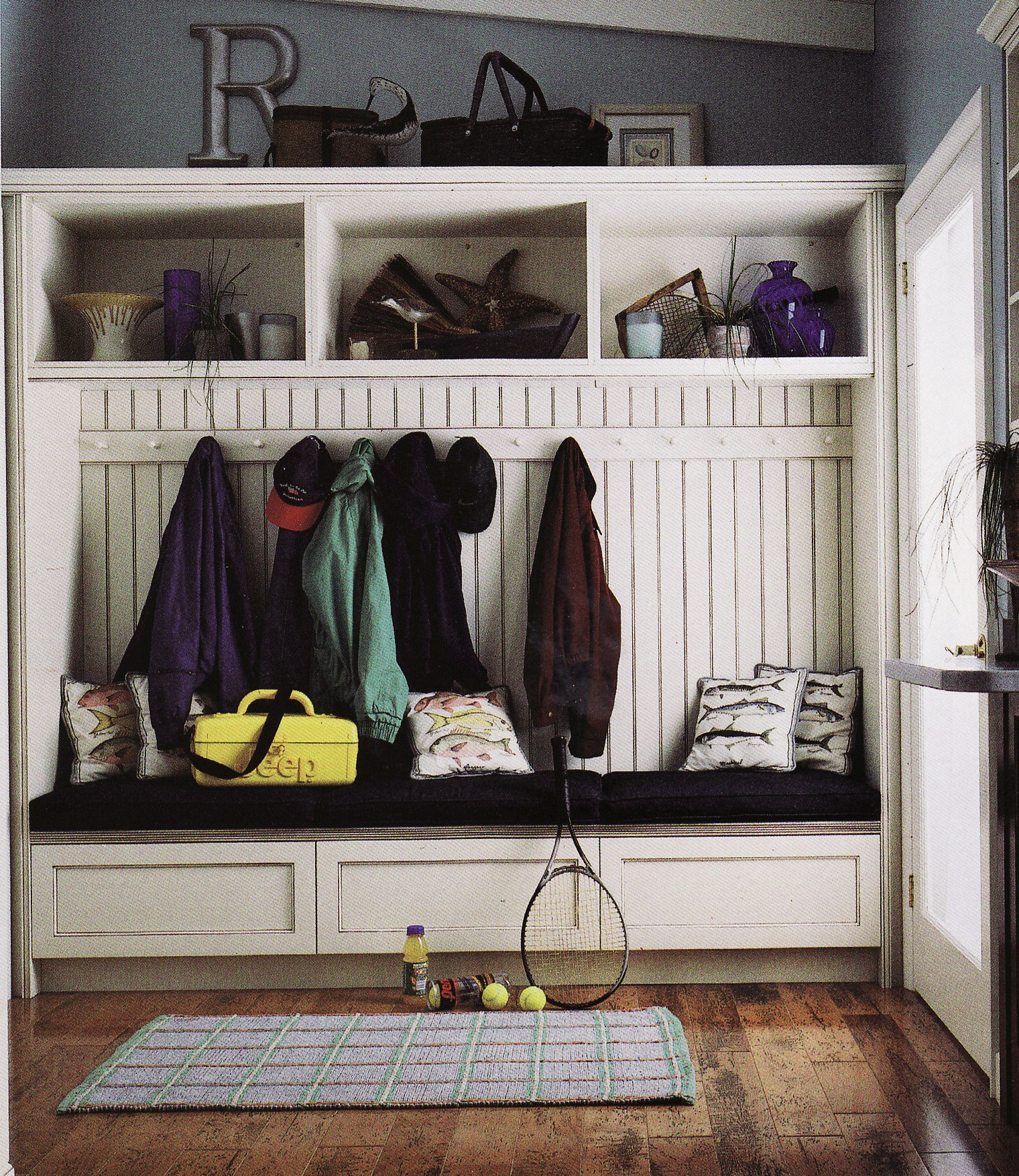 THE MUDROOM The Kitchens Right Arm